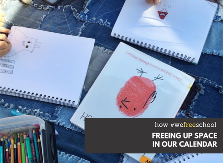 Freeing Up Space In Our Calendar