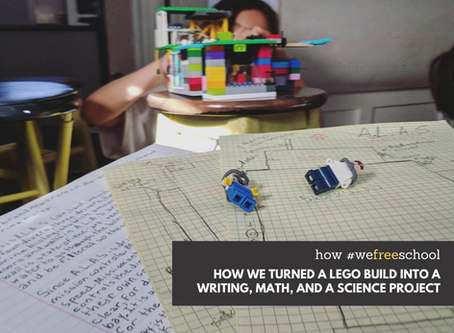 How We Turned a Lego Build into a Writing, Math, and a Science Project