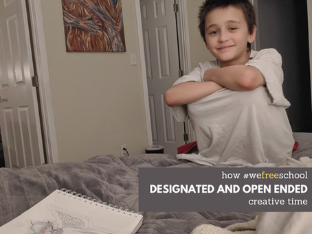 Designated and Open Ended Creative Time