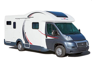 Motorhome Hire, Sheffield, 4 Berth, Auto Roller 675