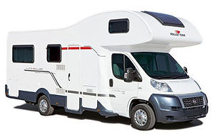 Motorhome Hire, Sheffield, Auto Roller 746, 6 Berth