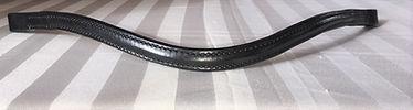 Curved black browband.JPG