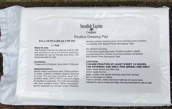 Swede Poultice Pads