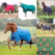Multi picture of Shires blankets.JPG