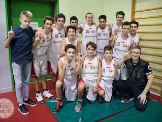U15: Vittoria sofferta sul Basket Russi