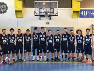 U18: Sconfitta ai supplementari a Rimini