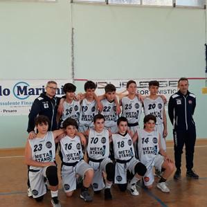 U14: Vittoria all'esordio del torneo di Pesaro