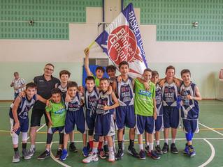U13: Basket, sole e vittoria alla Kiklos Summer Cup
