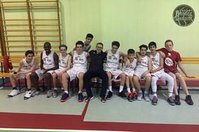 U15: Vittoria al cardiopalma in Gara1