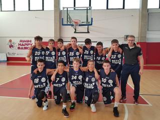 U14: Esordio nel campionato Elite con vittoria
