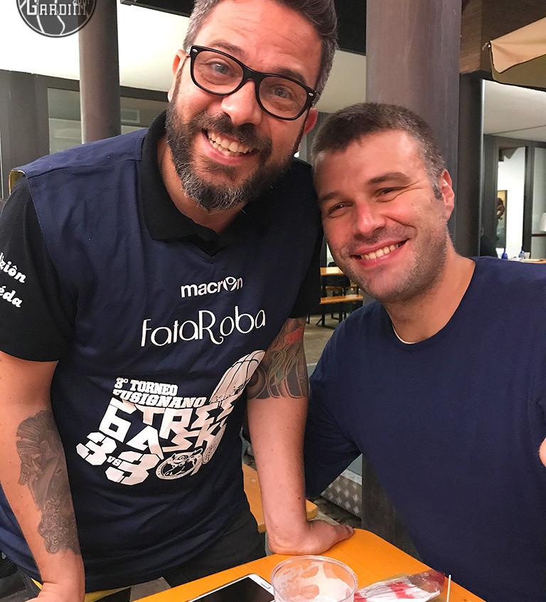 A cena con lo sponsor
