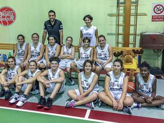 U13F: Esordio assoluto in un campionato femminile