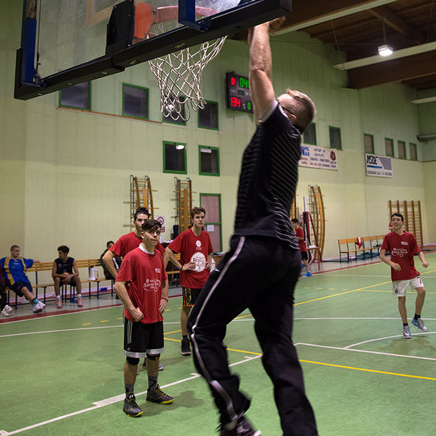 Coach Ortasi dimostra come si fa