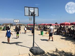 La Scuola Basket va in spiaggia