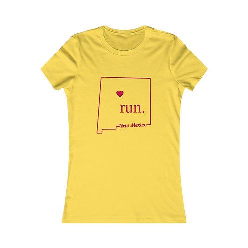 New  Mexico Run - Women's Favorite Tee
