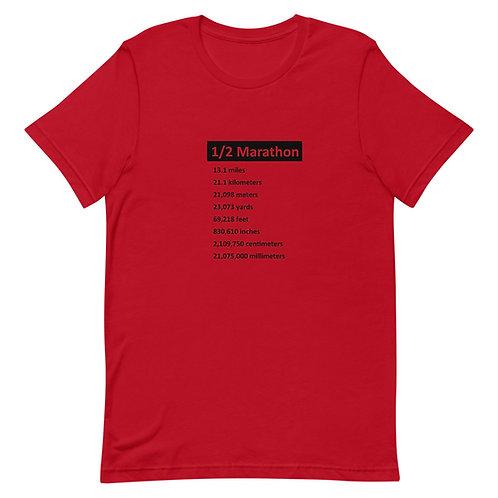 Half Marathon - Unisex Short-Sleeve T-Shirt