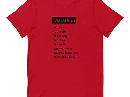 Marathon - Unisex Short Sleeve T-Shirt