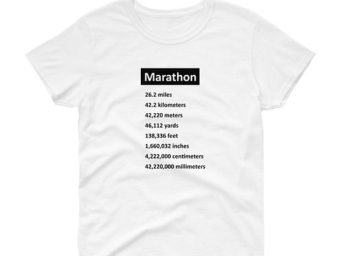 Marathon - Women's Short Sleeve T-Shirt
