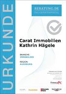 Carat Immobilien, Immobilienmakler in Augsburg Stadtbergen
