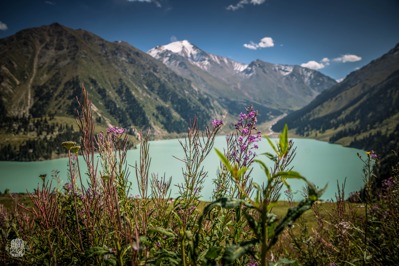 Kazakhstan/Lac d'Almaty