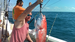 Derek and his Red snapper