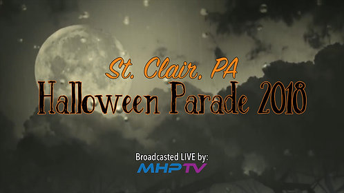 St. Clair, PA 2018 Halloween Parade Video