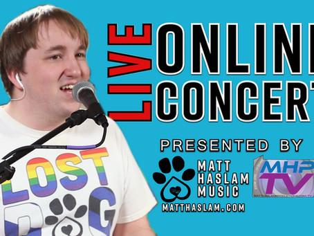 Matt Haslam - Quarantine Livestream Concert