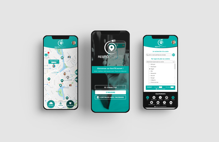 Application mobile • Rest'ÔCourant