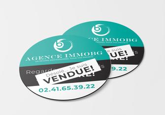 Panneaux • Agence ImmoBG