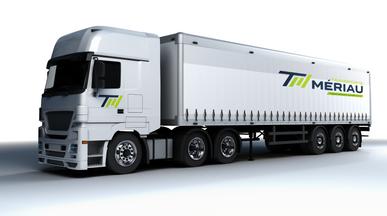 Signalétique véhicule • Transports Meriau