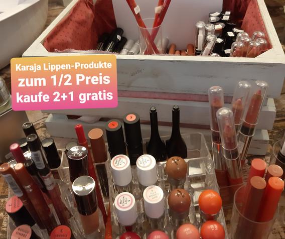 Karaja Lippen Produkte