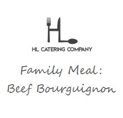 Family Dinner: Beef Bourguignon