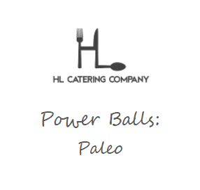 Power Balls: Paleo
