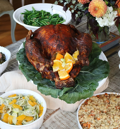 Chef-prepared Thanksgiving Dinner (8-10 servings)