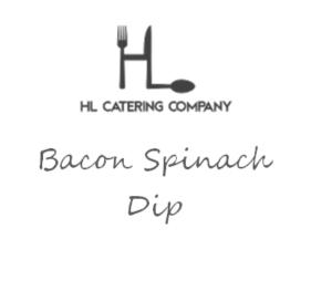 Bacon Spinach Dip