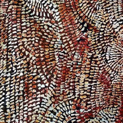 Joshua Bonson, an indigenous artist from Australia, shares his heritage through painting