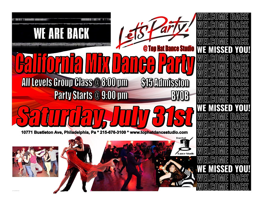 We're Back CalMix Party.jpg