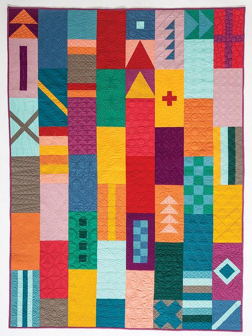 Nations Quilt Pattern (Digital Download)