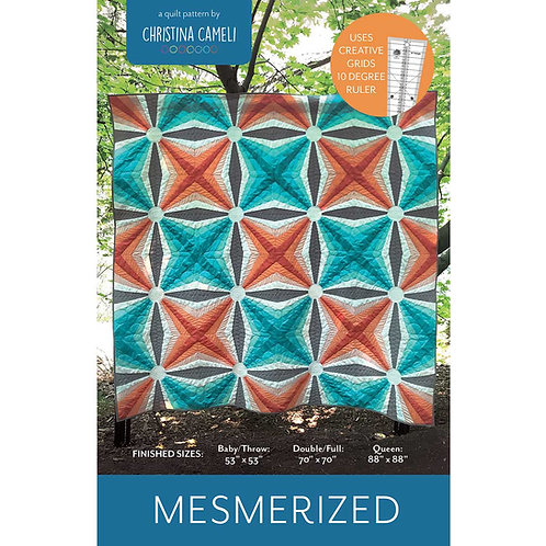 Mesmerized Quilt Pattern (Digital Download)