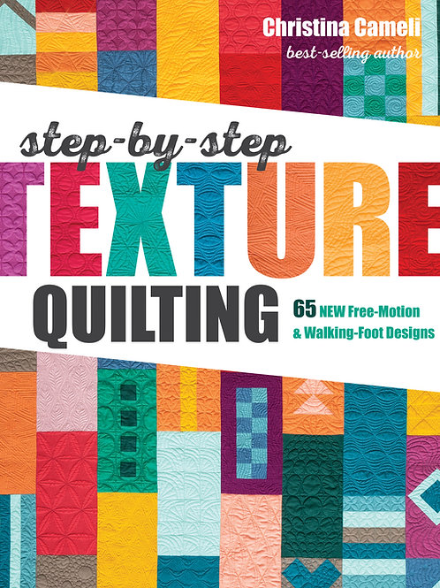 E-Book: Step-by-Step Texture Quilting