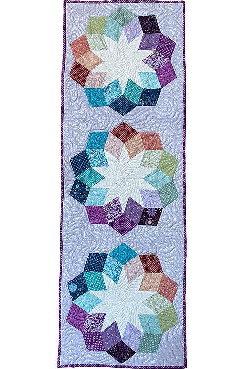 Downloadable (Digital) Quilt Pattern: Cactus Flower