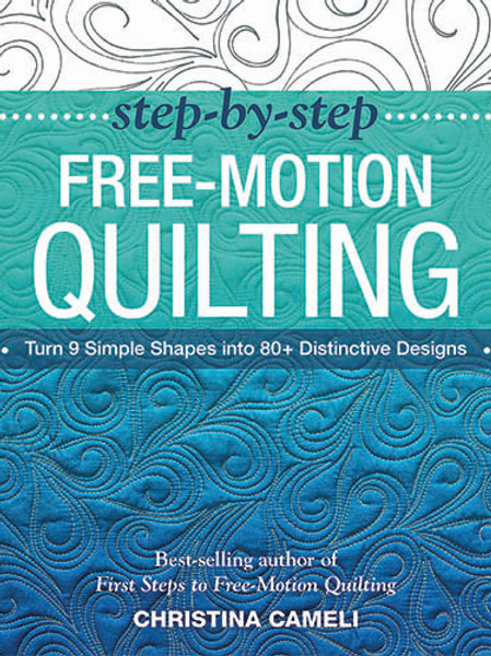 E-Book: Step-by-Step Free-Motion Quilting