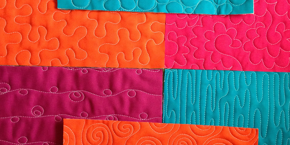 Jump Into Free-Motion Quilting