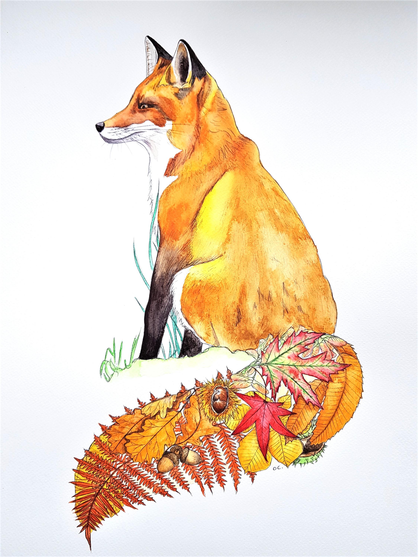 renard d'automne
