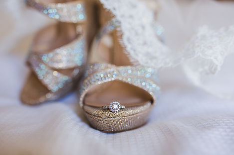 My Forever By Nikki - San Antonio Texas Wedding Consultant/Planner/Coordinatior - Wedding shoes with ring photo inspiration