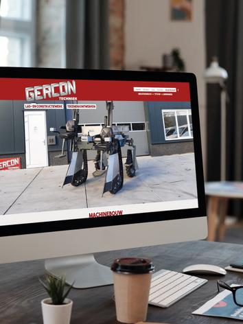 Website Gercon Techniek