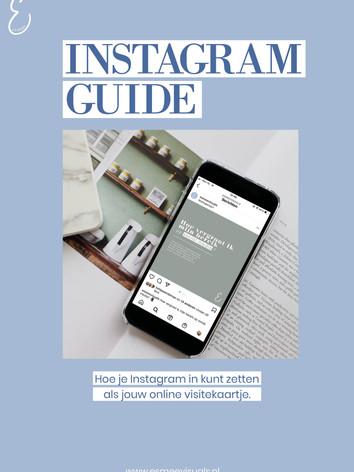 Instagram Guide Esmee Visuals