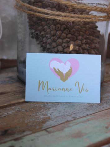 Visitekaartje Babycoach Marianne