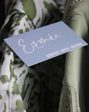 Visitekaartje Esmee Visuals