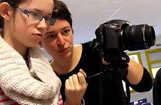Julie Brébion, médiatrice cinéma